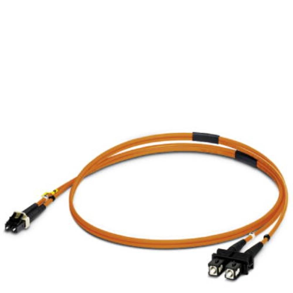 Optični priključni kabel [1x LC vtič - 1x SC vtič] 50/125µ Multimode OM2 1 m Phoenix Contact