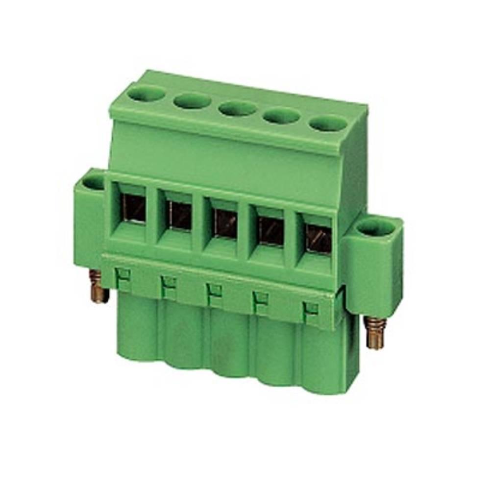 Tilslutningskabinet-kabel MSTB (value.1360781) Samlet antal poler 6 Phoenix Contact 1903986 Rastermål: 5.08 mm 50 stk