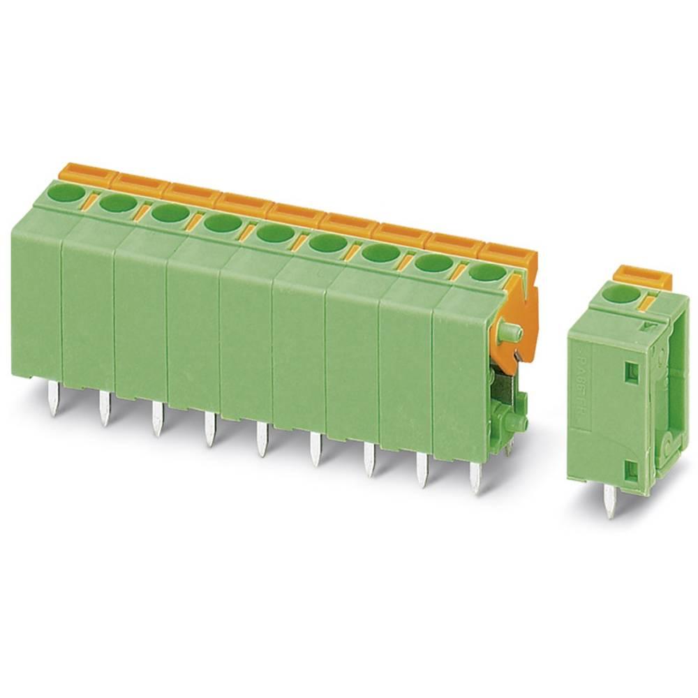Fjederkraftsklemmeblok Phoenix Contact FFKDSA1/V1-5,08- 2 1.50 mm² Poltal 2 Grøn 50 stk