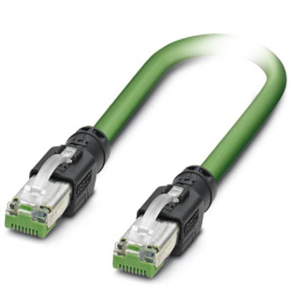 RJ45 omrežni priključni kabel CAT 5, CAT 5e SF/UTP [1x RJ45-vtič - 1x RJ45-vtič] 0.30 m zelen Phoenix Contact