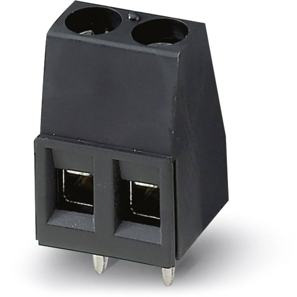 Skrueklemmeblok Phoenix Contact MKDS 1,5/ 3-5,08 HT BK 1.50 mm² Poltal 3 Sort 50 stk