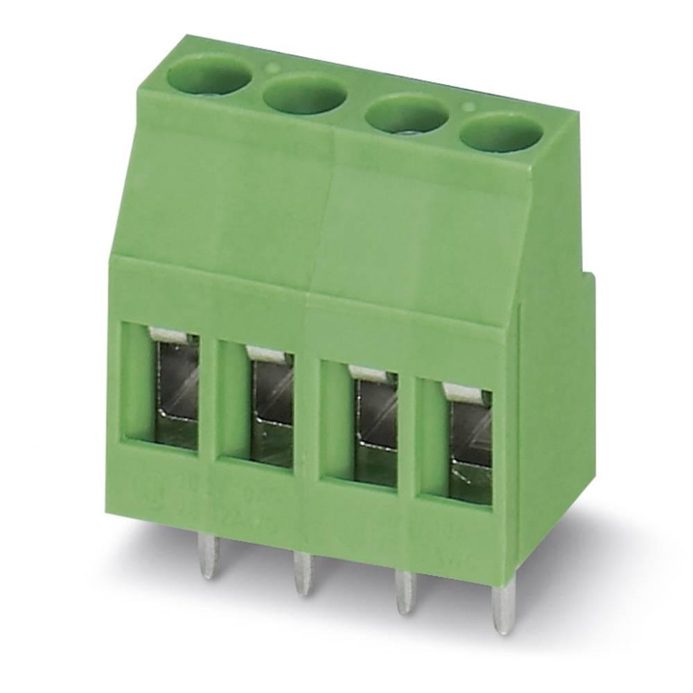 Skrueklemmeblok Phoenix Contact MKDS 3/ 4 2.50 mm² Poltal 4 Grøn 50 stk