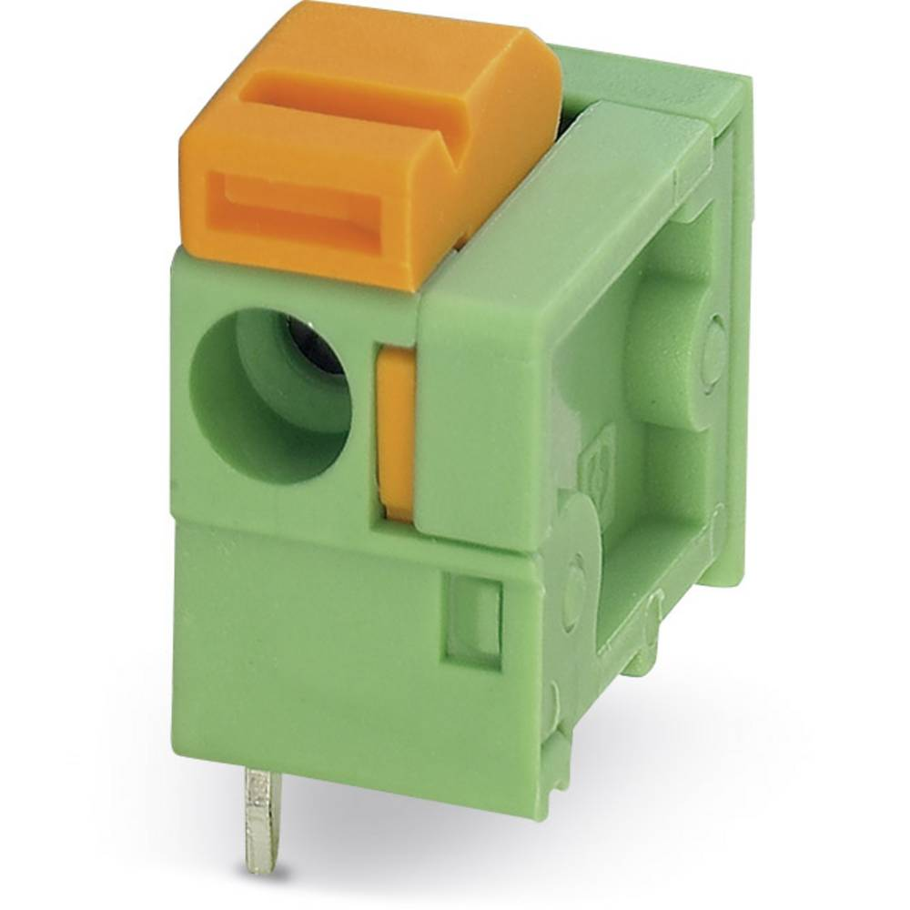Fjederkraftsklemmeblok Phoenix Contact FFKDSA/H1-7,62 1.50 mm² Poltal 1 Grøn 250 stk