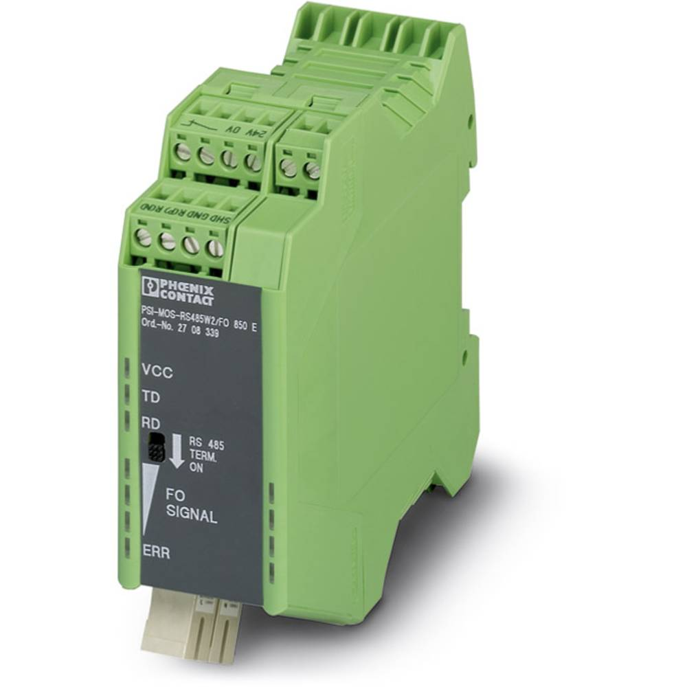 Pretvornik za optiko Phoenix Contact PSI-MOS RS485W2 / FO1300 E Pretvornik za optiko