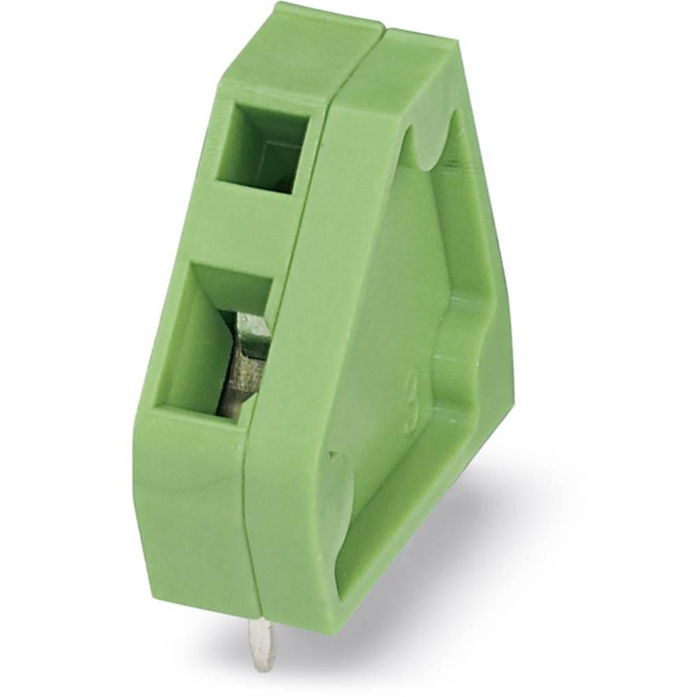 Fjederkraftsklemmeblok Phoenix Contact ZFKDSA 1-6,35 1.00 mm² Poltal 1 Grøn 50 stk