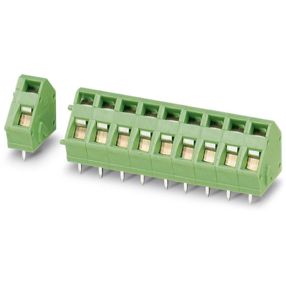 Fjederkraftsklemmeblok Phoenix Contact FK-MPT 0,5/15-3,5-H NZ:8897501 0.50 mm² Poltal 15 Grøn 50 stk
