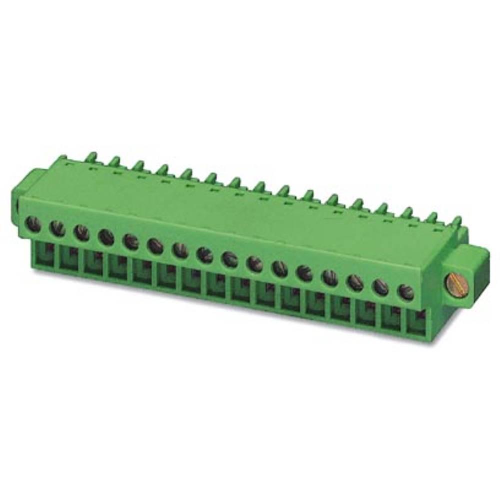 Tilslutningskabinet-kabel FRONT-MC (value.1361045) Samlet antal poler 20 Phoenix Contact 1851038 Rastermål: 3.81 mm 50 stk