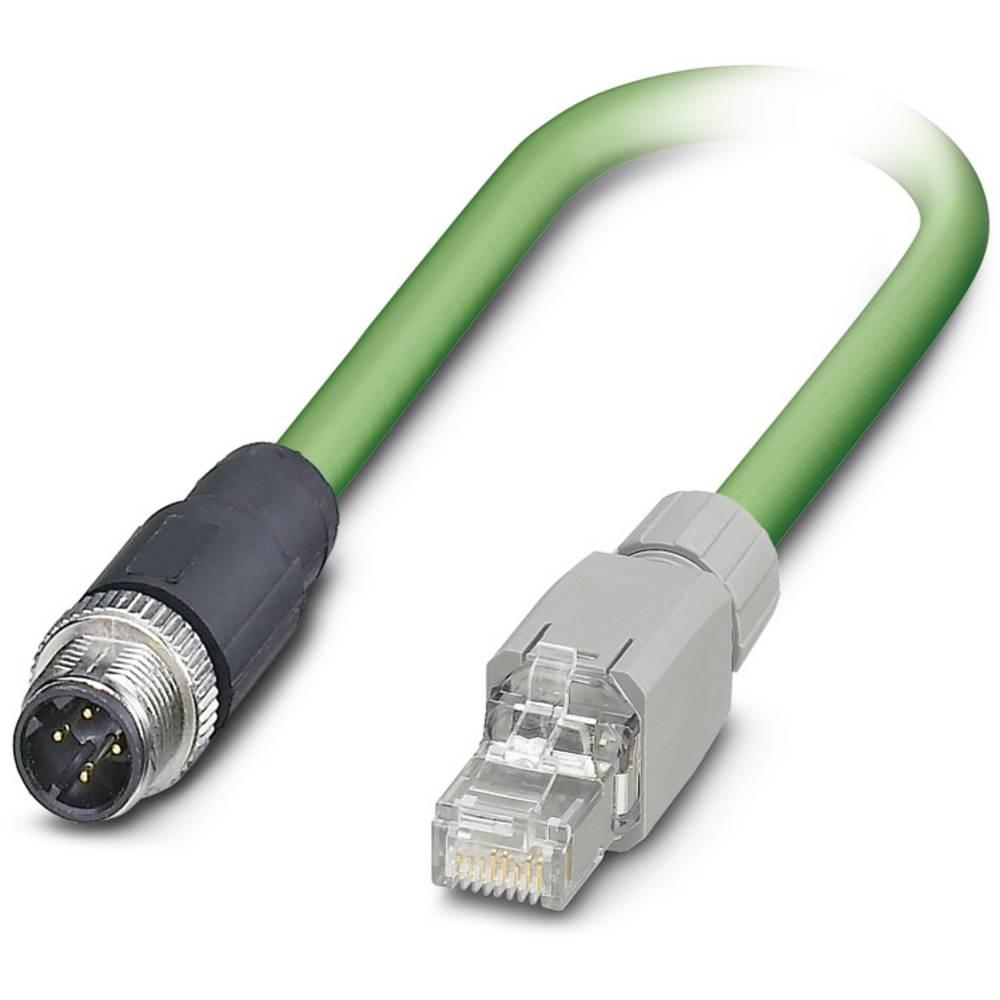Sensor- /aktor- -datastikforbindelse, konfektioneret Phoenix Contact VS-M12MS-IP20-93R-LI/2,0 1 stk