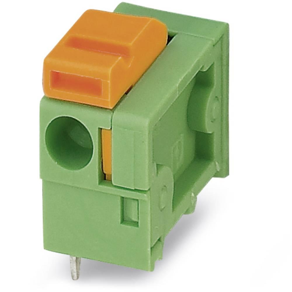 Fjederkraftsklemmeblok Phoenix Contact FFKDSA1/H1-7,62 1.50 mm² Poltal 1 Grøn 250 stk