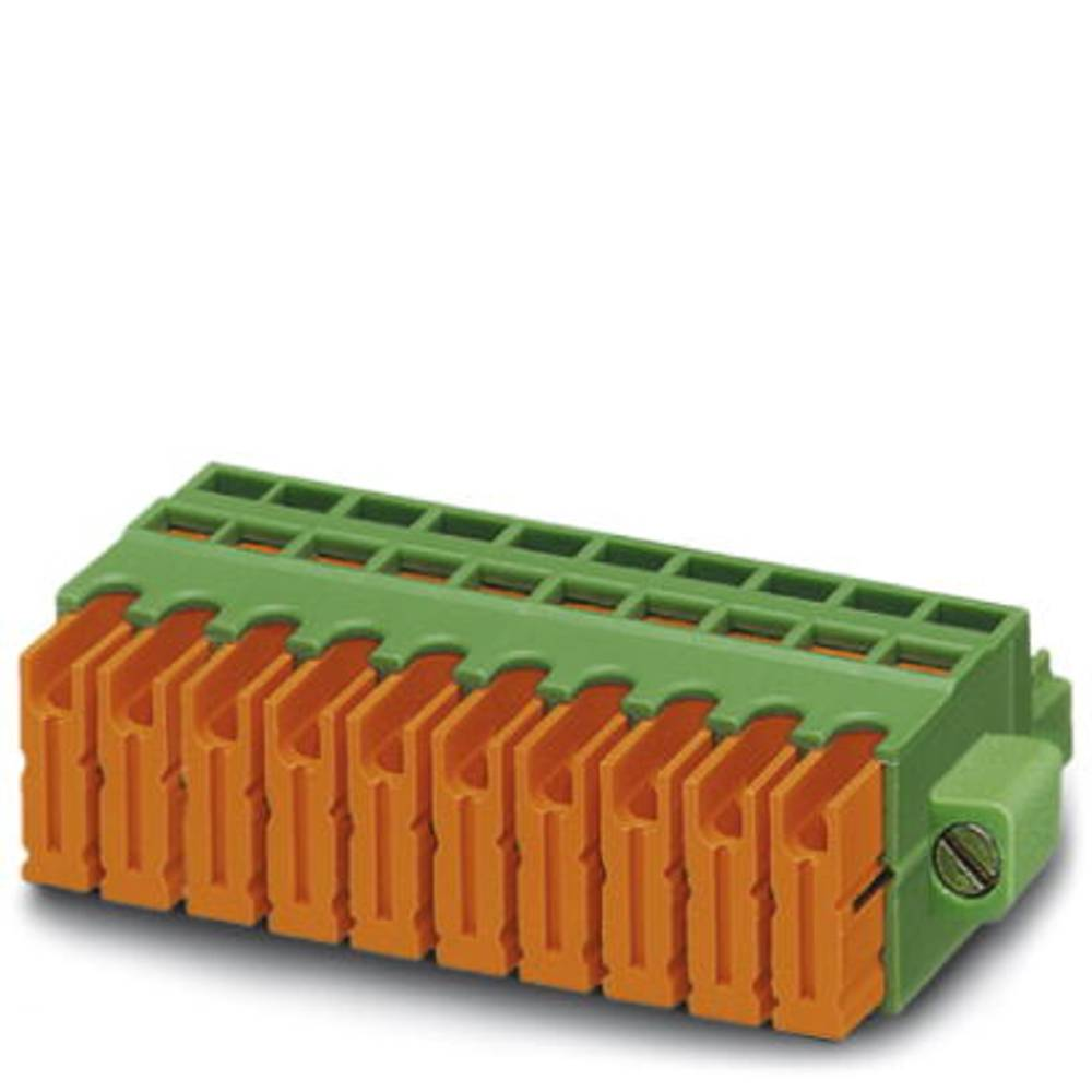 Tilslutningskabinet-kabel QC (value.1360941) Samlet antal poler 12 Phoenix Contact 1897649 Rastermål: 3.81 mm 50 stk
