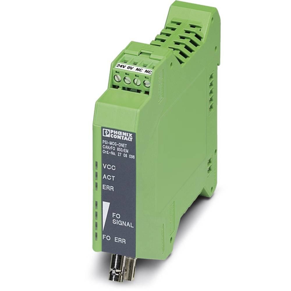 Pretvornik za optiko Phoenix Contact PSI-MOS-DNET CAN/FO 850/EM Pretvornik za optiko