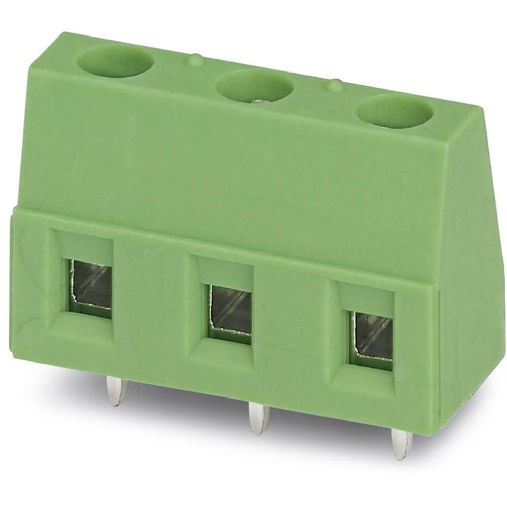 Skrueklemmeblok Phoenix Contact GMKDS 1,5/ 3-7,62 1.50 mm² Poltal 3 Grøn 250 stk