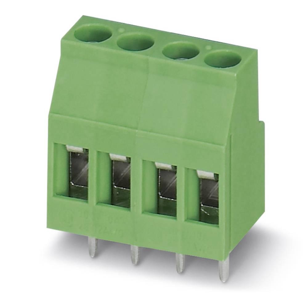 Skrueklemmeblok Phoenix Contact MKDS 3/ 3-5,08 2.50 mm² Poltal 3 Grøn 100 stk