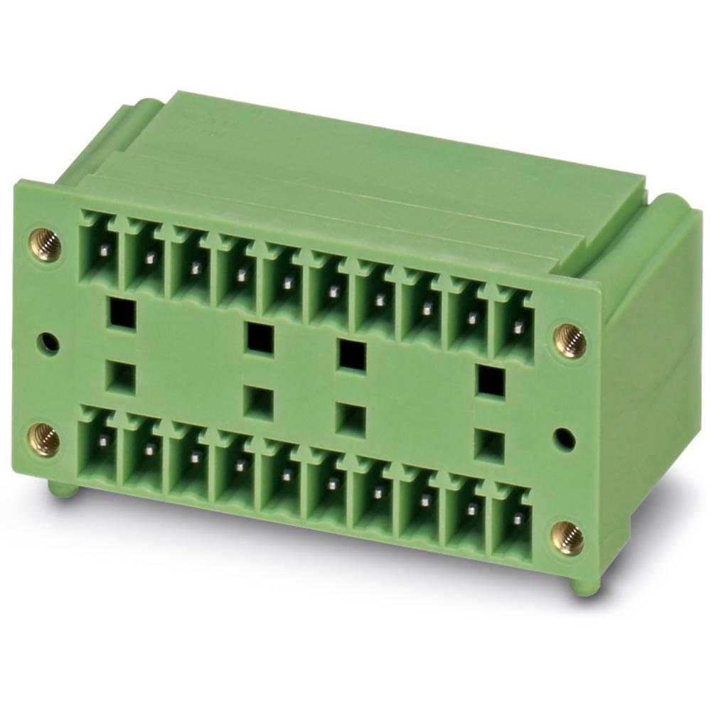 Stiftkabinet-printplade MCD (value.1361122) Samlet antal poler 9 Phoenix Contact 1842982 Rastermål: 3.81 mm 50 stk
