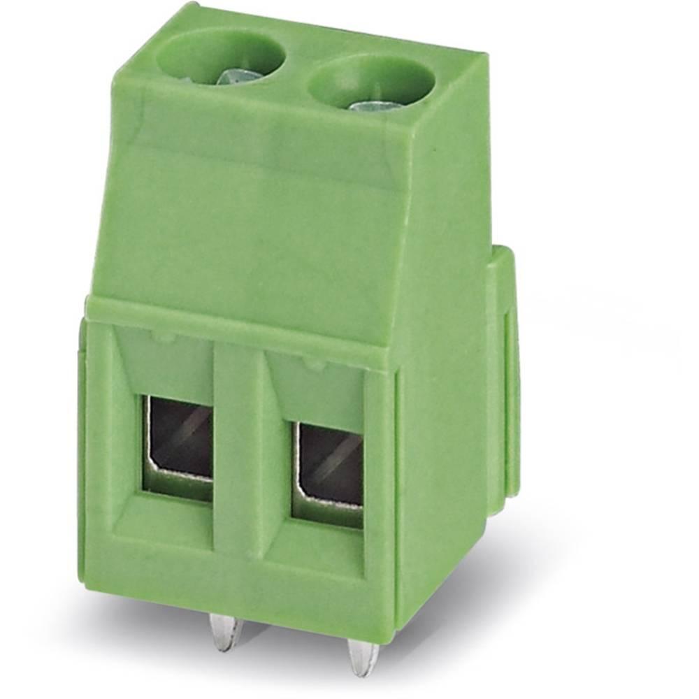 Skrueklemmeblok Phoenix Contact MKDSN 2,5/ 2-5,08 2.50 mm² Poltal 2 Grøn 250 stk