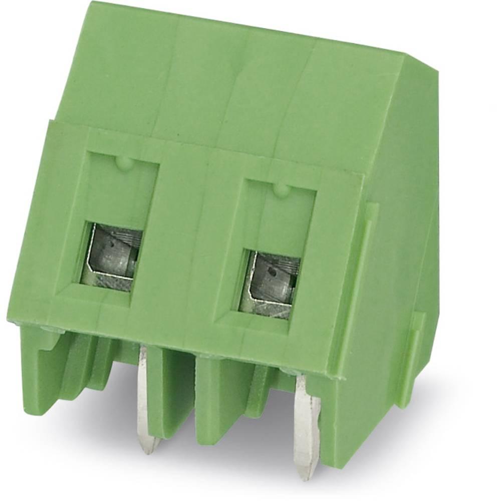 Skrueklemmeblok Phoenix Contact GSMKDSP 1,5/ 3-7,62 1.50 mm² Poltal 3 Grøn 250 stk