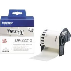 Brother Bezkonačna naljepnica, bijela, 62 mm x 15,24 m DK22212