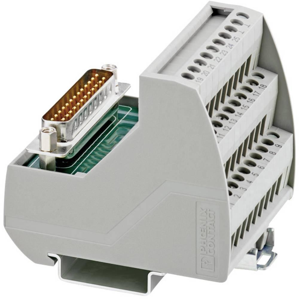 VIP-3/SC/D25SUB/M - Prenosni modul VIP-3/SC/D25SUB/M Phoenix Contact vsebina: 1 kos
