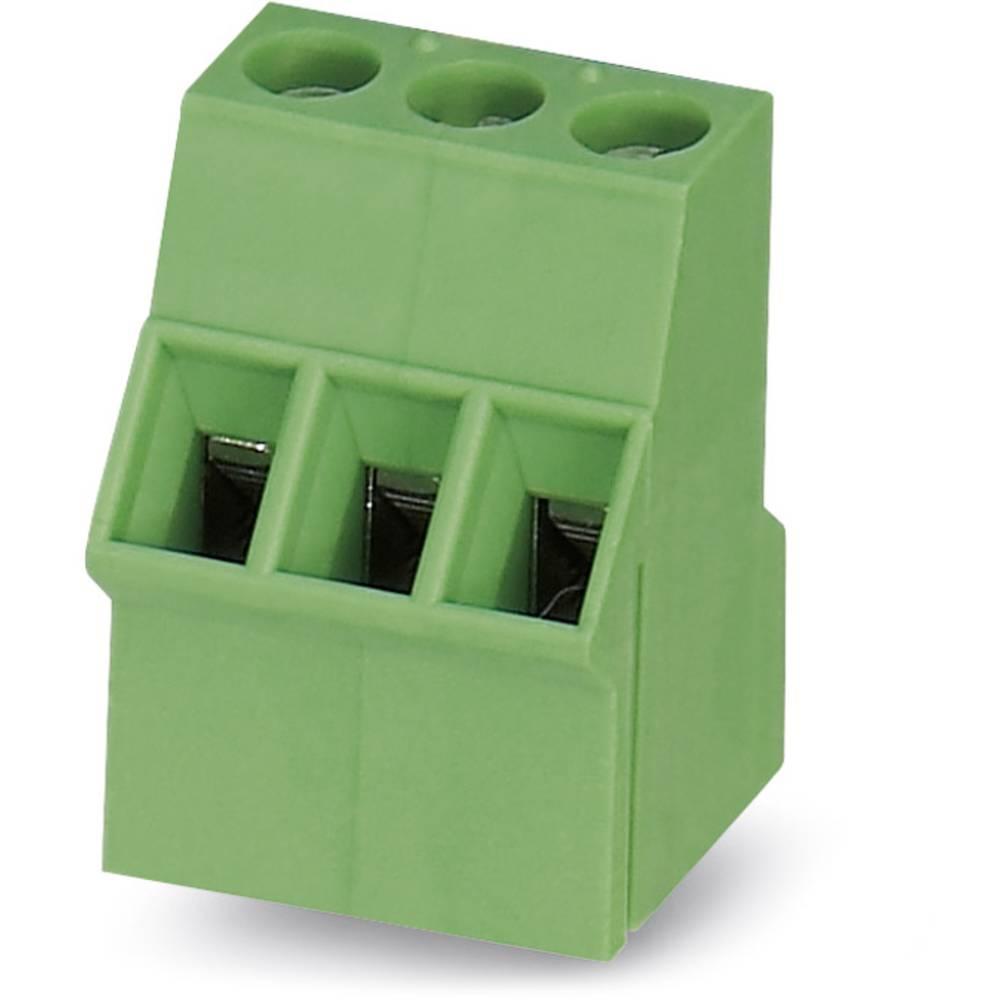 Skrueklemmeblok Phoenix Contact SMKDS 2,5/ 3-5,08 2.50 mm² Poltal 3 Grøn 50 stk