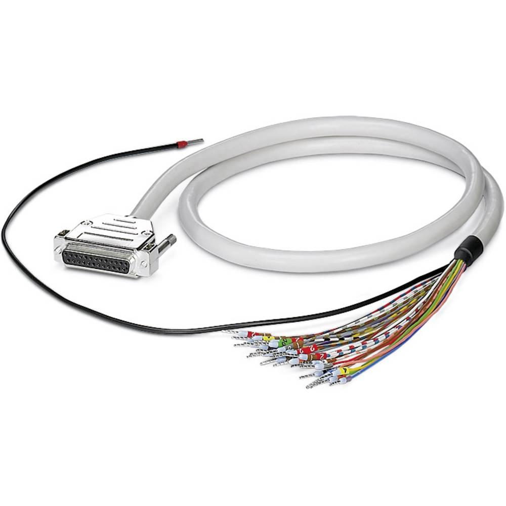 CABLE-D-37SUB/F/OE/0,25/S/2,0M - Kabel CABLE-D-37SUB/F/OE/0,25/S/2,0M Phoenix Contact vsebina: 1 kos