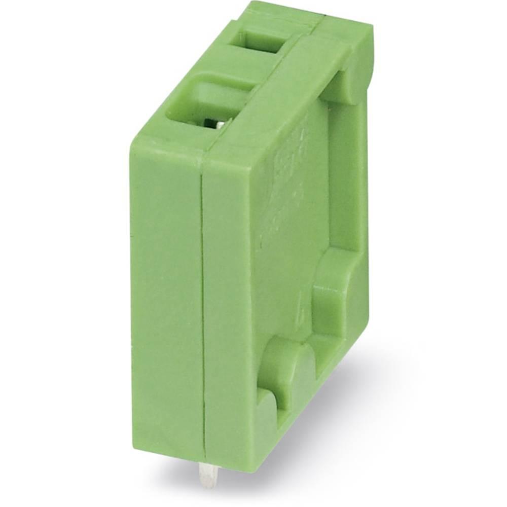 Fjederkraftsklemmeblok Phoenix Contact ZFKDSA 1-V-6,35 1.00 mm² Poltal 1 Grøn 50 stk
