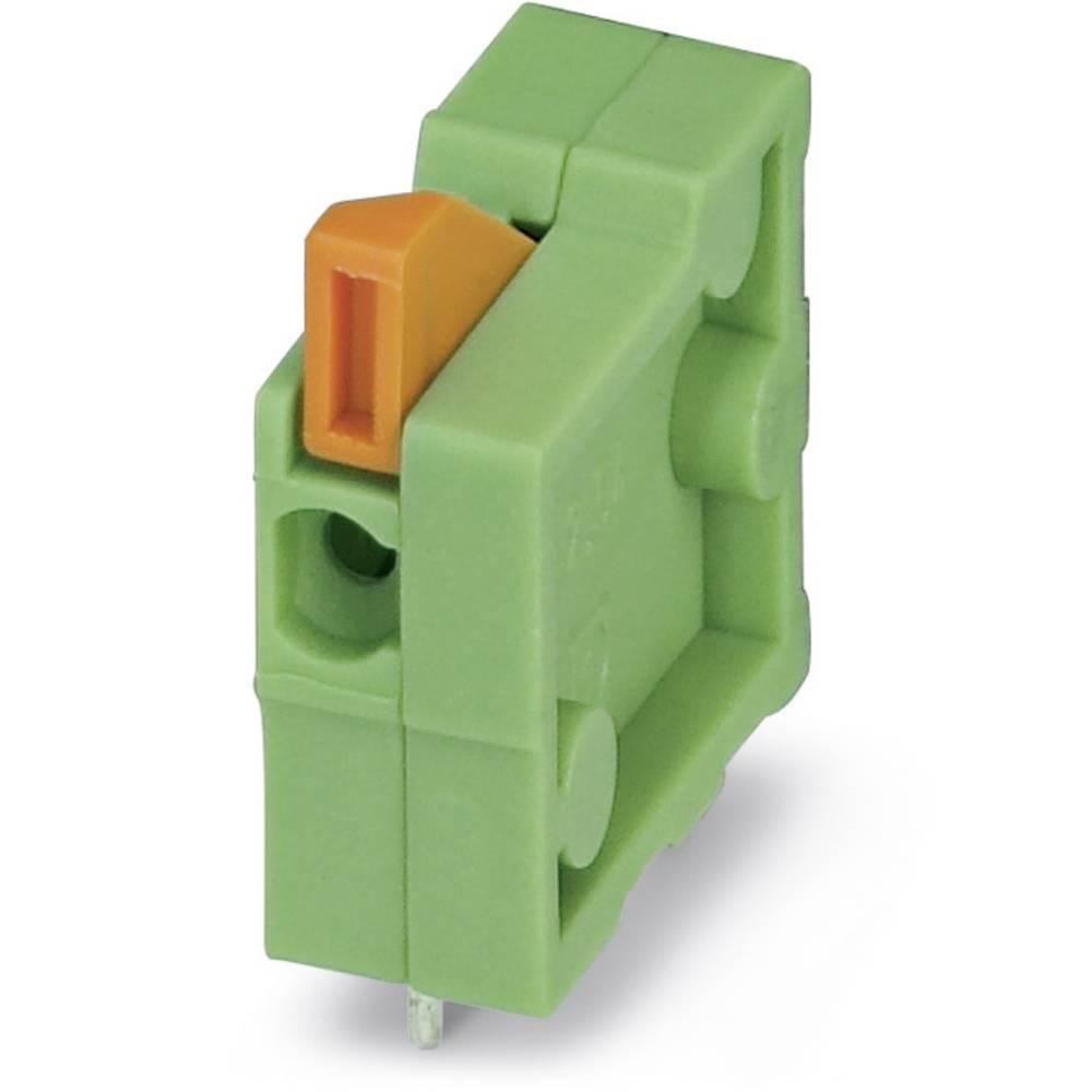 Fjederkraftsklemmeblok Phoenix Contact FFKDSA1/H-5,08 0.50 mm² Poltal 1 Grøn 250 stk