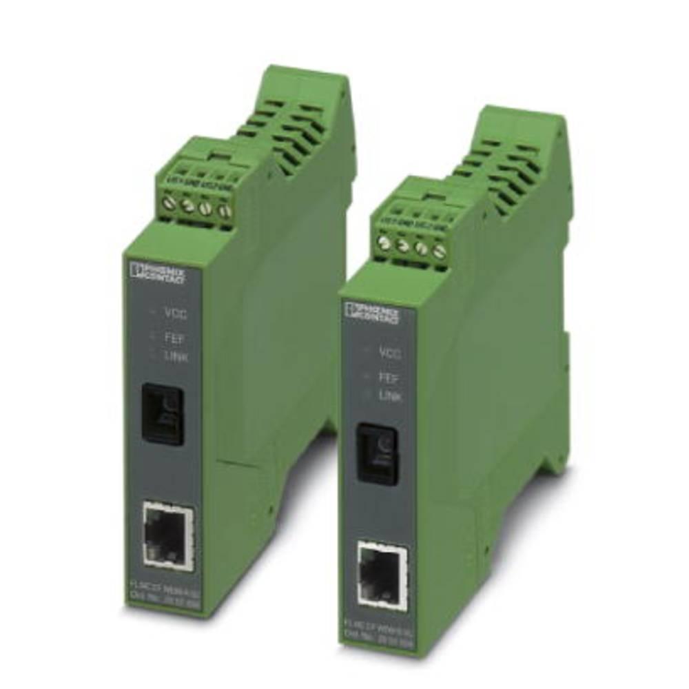 Optički pretvarač Phoenix Contact FL MC EF WDM-SET SC optički pretvarač Set