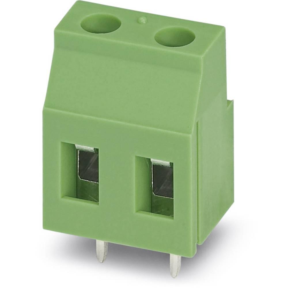 Skrueklemmeblok Phoenix Contact GMKDSP 3/ 3 2.50 mm² Poltal 3 Grøn 50 stk