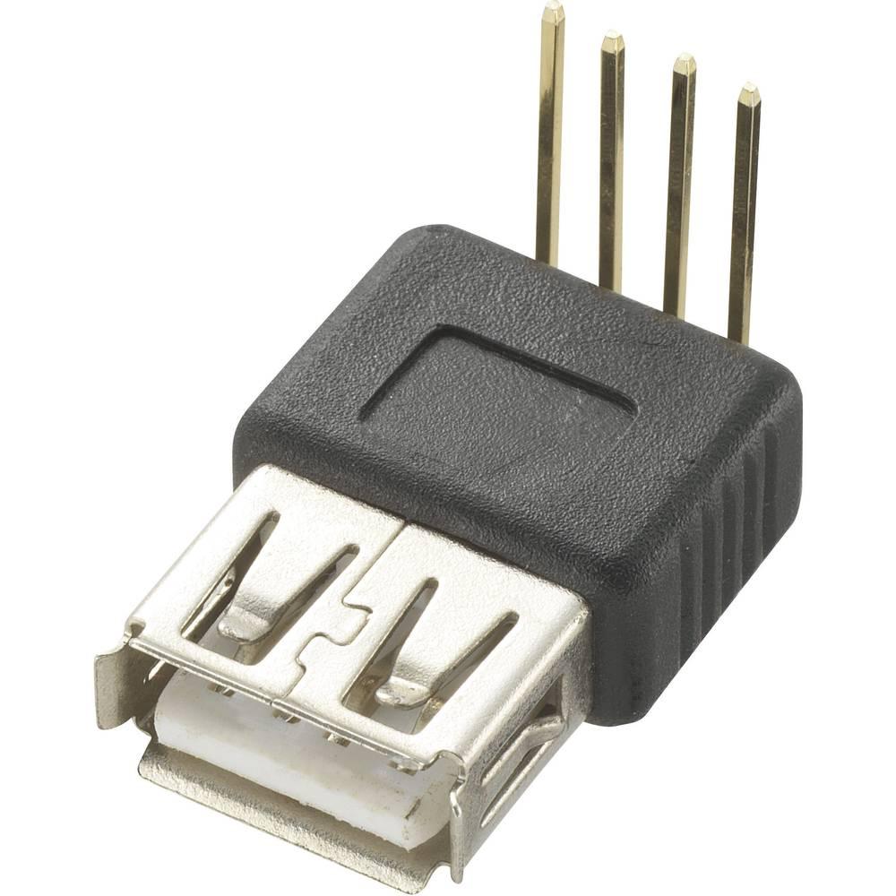 Typ A 90° USB 2.0 1 stk