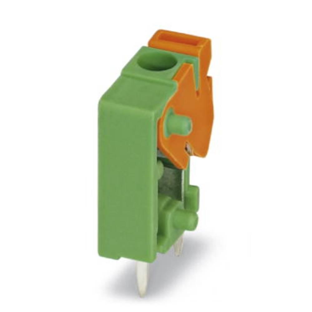 Fjederkraftsklemmeblok Phoenix Contact FFKDS/V1-5,08 1.50 mm² Poltal 1 Grøn 250 stk