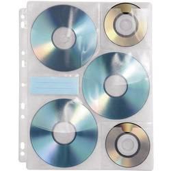 Sortirne košuljice za CD/DVD-e Hama prozirna-bijela 10 CDs/DVDs (Š x V x Db) 238 x 1 x 295 mm