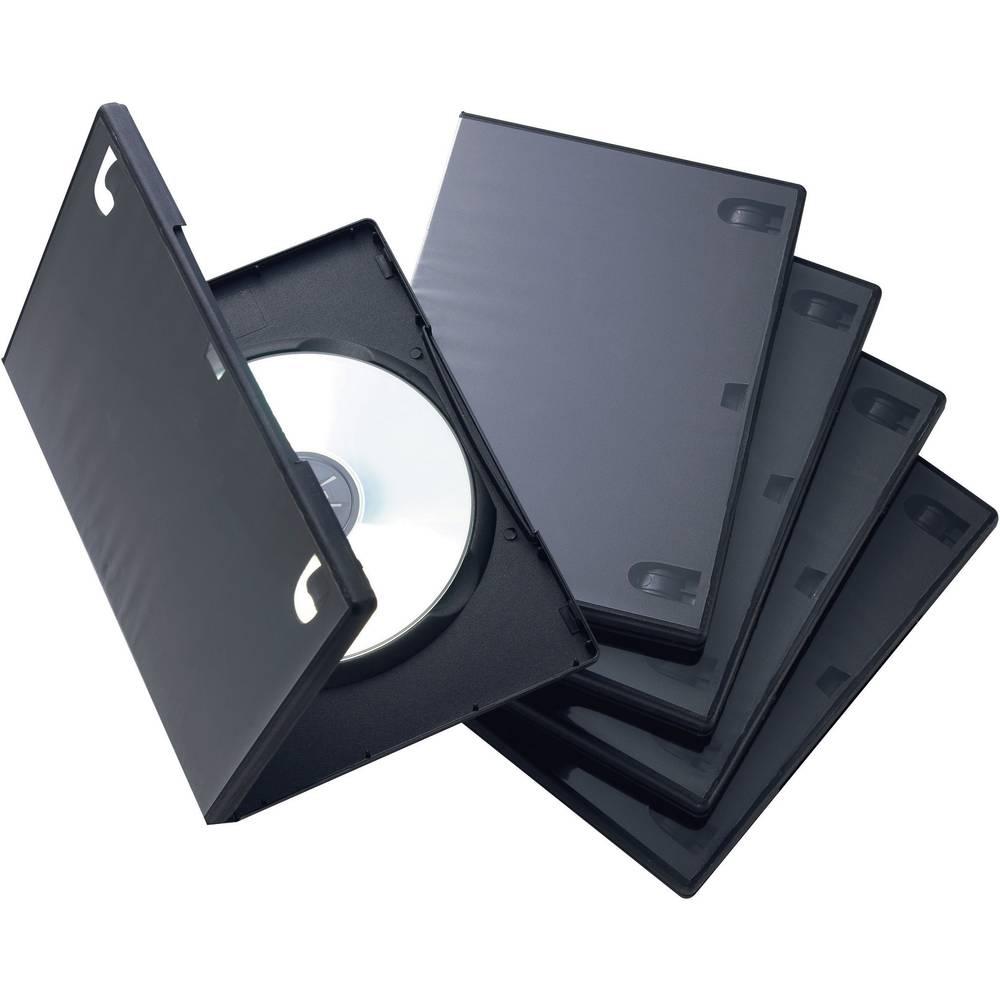 Škatle za shranjevanje DVD-jeviz umetne mase.