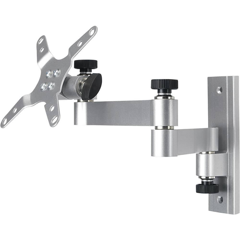 Zidni držač ''Teleskop'' 38 - 61cm za TFT/LCD monitor (15'' -24''), srebrni Conrad