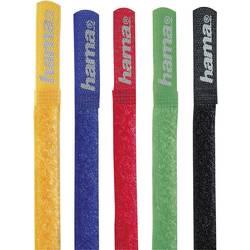 Trake na čičak u boji 00020535 Hama (D x Š) 21.5 cm x 1.6 cm 5 kom. crvena, plava, crna, žuta, zelena