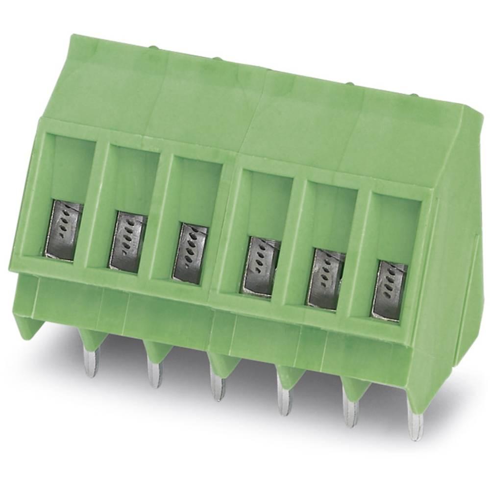 Skrueklemmeblok Phoenix Contact SMKDS 3/ 2 2.50 mm² Poltal 2 Grøn 100 stk