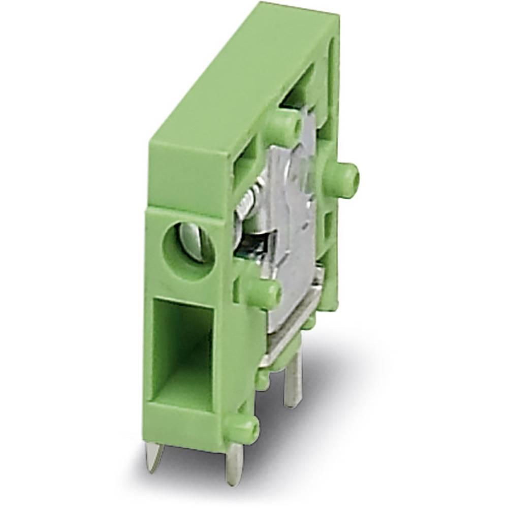 Skrueklemmeblok Phoenix Contact FRONT 2,5-H/SA10-EX 2.50 mm² Poltal 1 Grøn 50 stk