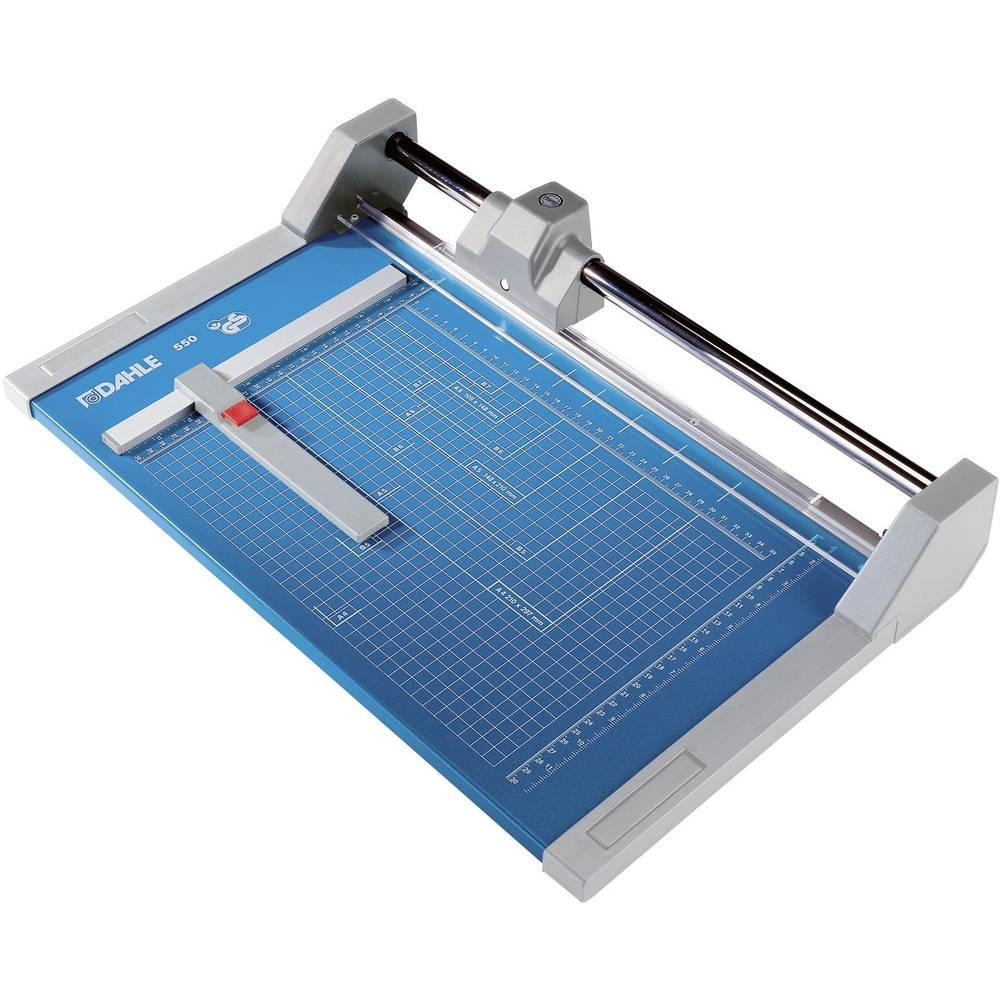 Rullskärare Dahle 550 A4 max. antal blad (80 g/kvadratmeter) per skärtillfälle: 20 Sheet
