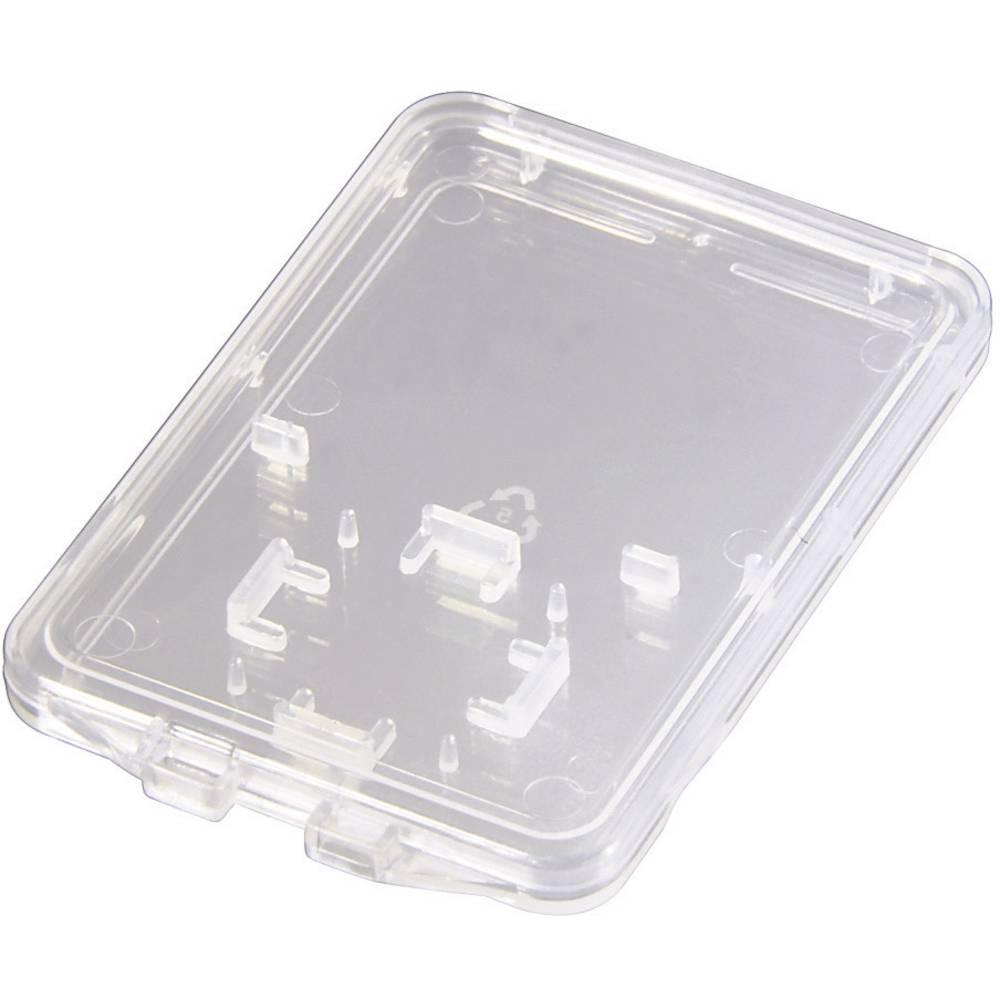 Minneskortsfodral Hama SD und microSD Slim Box microSD-Kort, SD-Kort Transparent