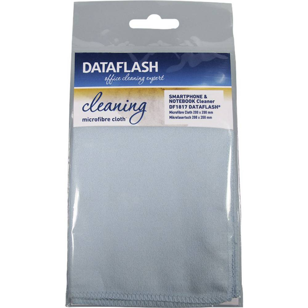 Krpa iz mikrovlaken DataFlashDF1817 za čiščenje prenosnikov,vsebina: 1 kos