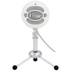 USB-studiomikrofon Blue Microphones Snowball White USB-Mikrofon Sladd inkl. kabel, Stativ