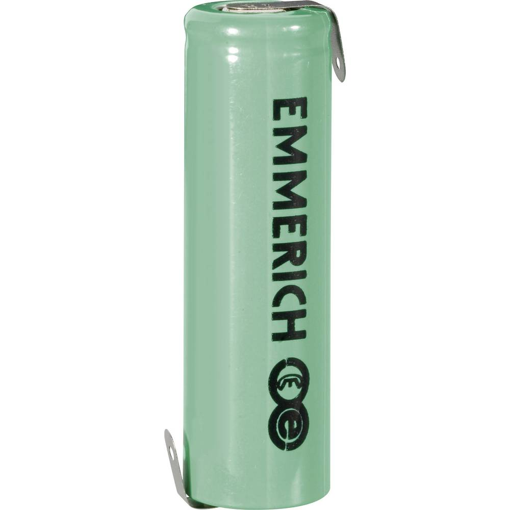 NiCd Mignon akumulatorska baterija Emmerich Z-spajkalni priključek 1, 2 V 1000 mAh (Ø x V) 14.5 mm x 49 mm EMM1000