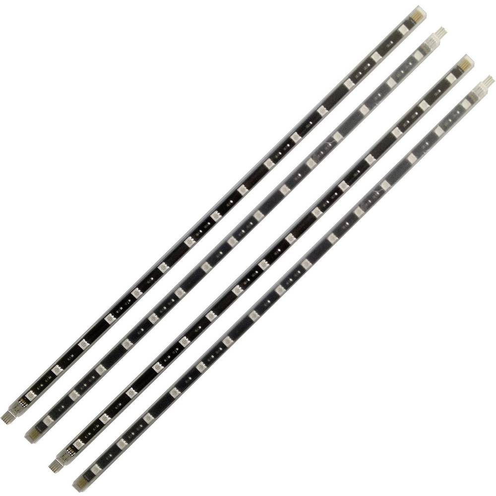 LED trake za unutarnju dekorativnu rasvjetu LED štapići Müller Licht 15W, UV svjetlo 4 x 40 cm