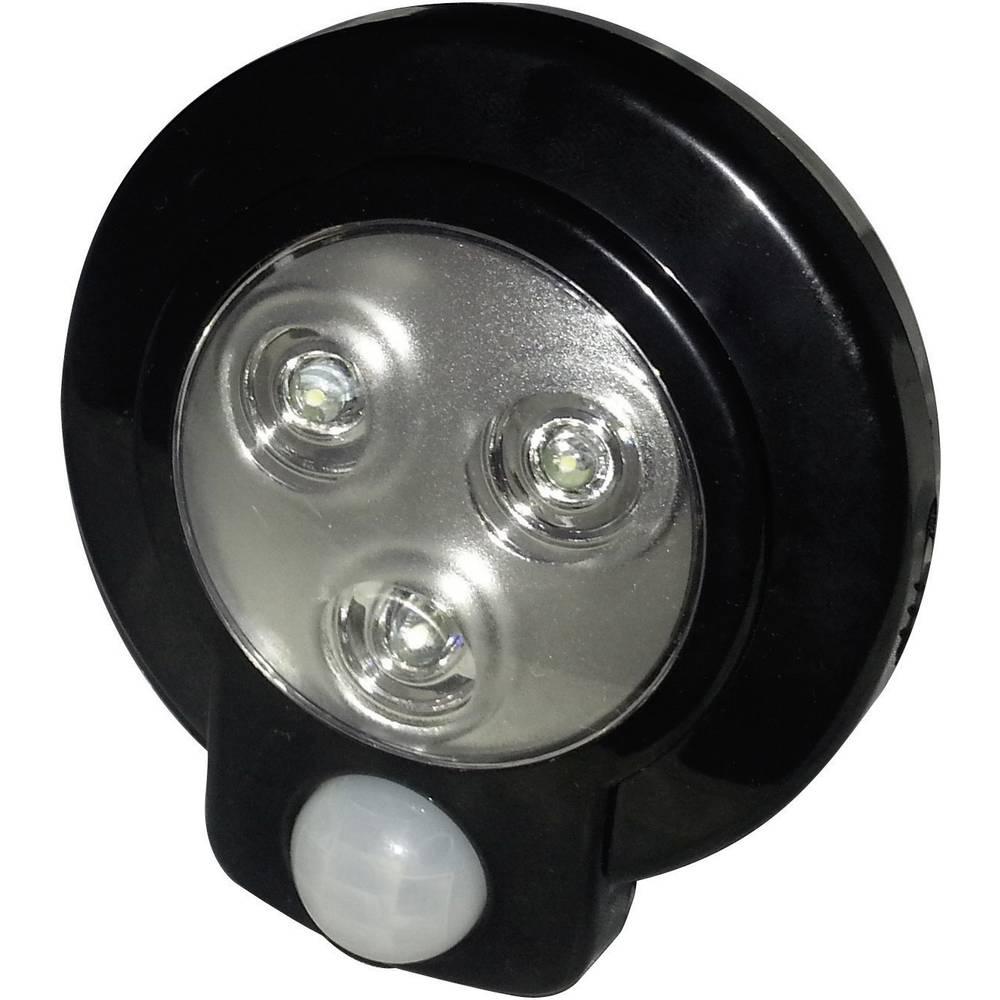 Okrogla LED-svetilka z detektorjem gibanja Müller Licht, 57013, fiksno vgrajena LED