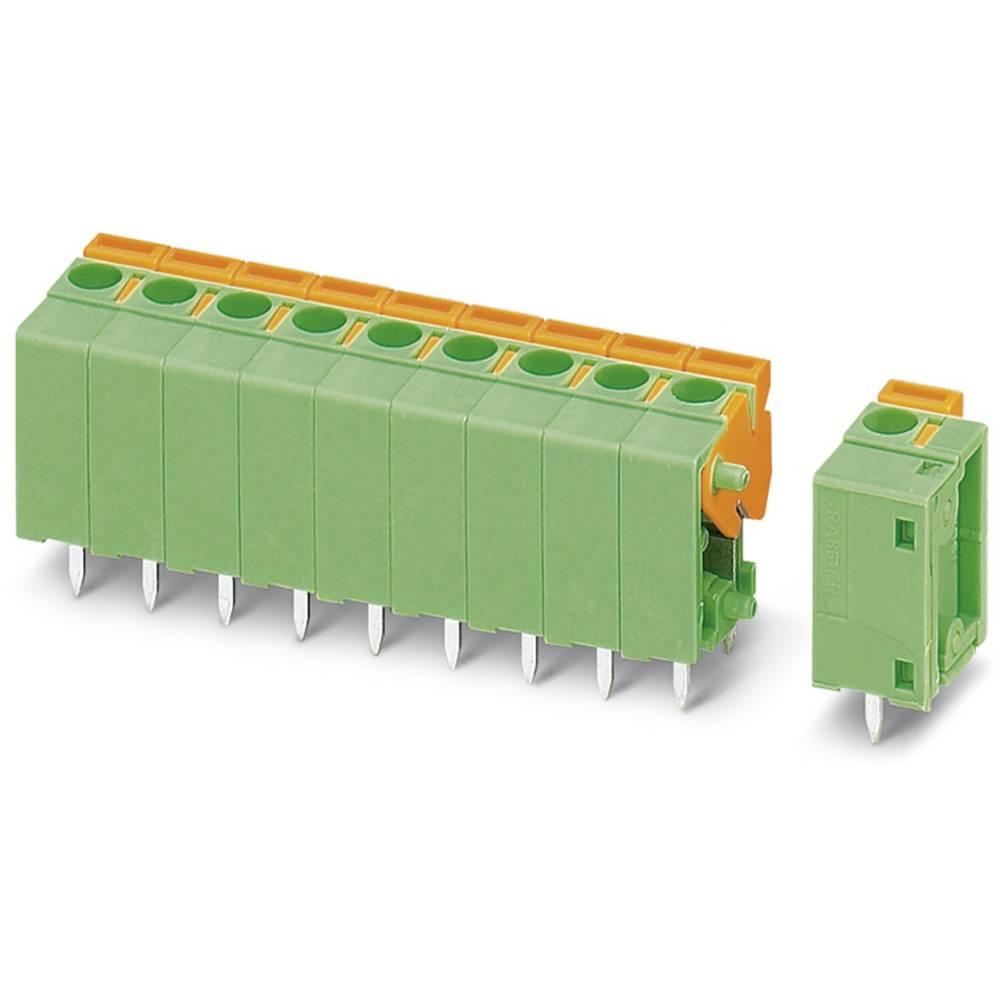 Fjederkraftsklemmeblok Phoenix Contact FFKDSA1/V1-5,08- 3 1.50 mm² Poltal 3 Grøn 50 stk