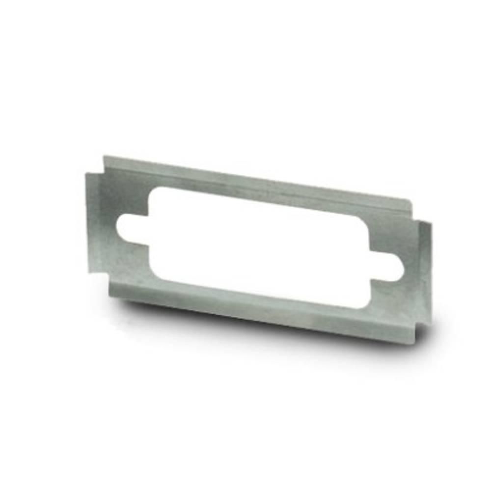 Zaščitna plošča Phoenix Contact VS-09-A-EMV-S srebrne barve 5 kosov