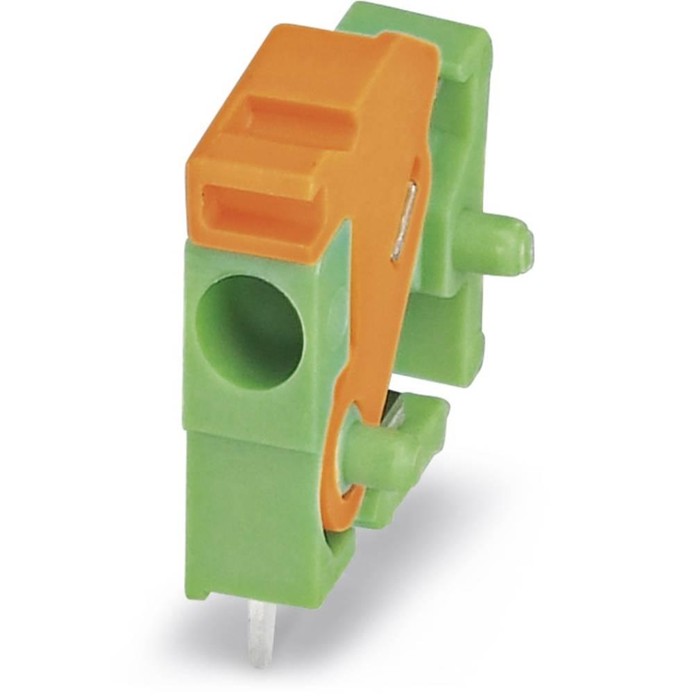 Fjederkraftsklemmeblok Phoenix Contact FFKDS/H-3,81 1.00 mm² Poltal 1 Grøn 100 stk