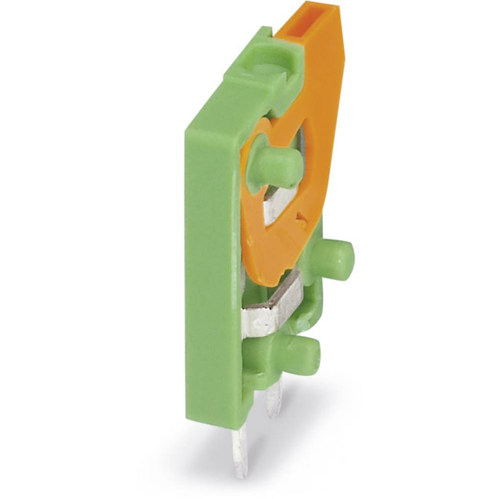 Fjederkraftsklemmeblok Phoenix Contact FFKDS/V-2,54 0.50 mm² Poltal 1 Grøn 250 stk
