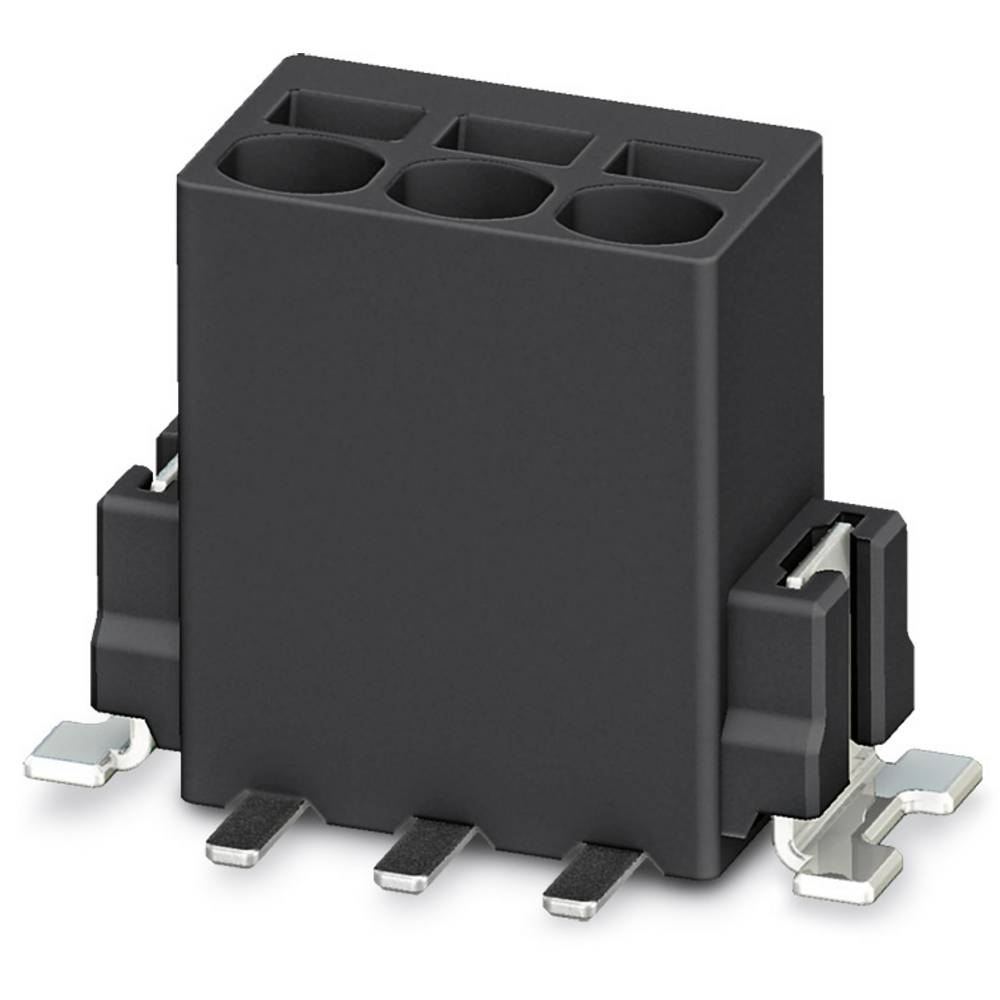 Fjederkraftsklemmeblok Phoenix Contact PTSM 0,5/ 3-2,5-V SMD R44 0.50 mm² Poltal 3 Sort 400 stk