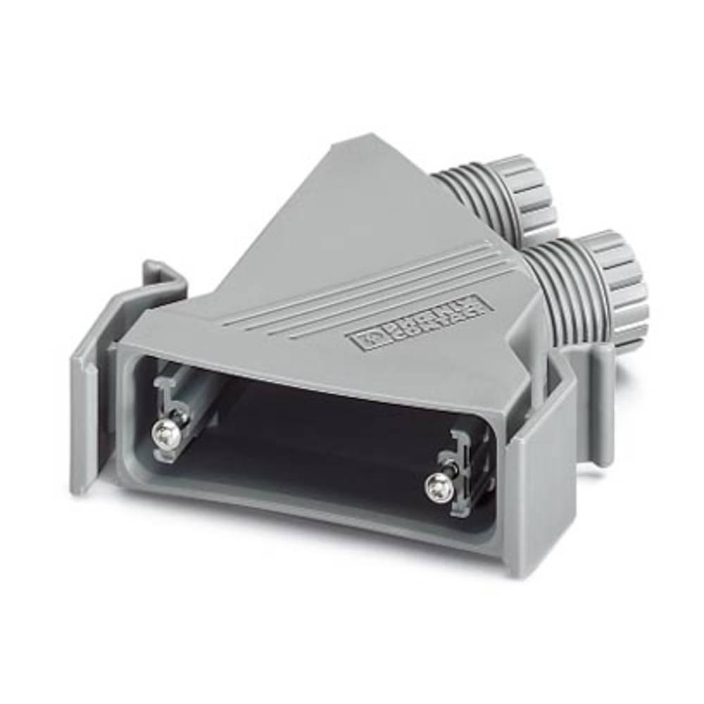 D-SUB ohišje, iz umetne mase, metalizirano 180 ° srebrne barve Phoenix Contact VS-25-T-2M20 5 kosov
