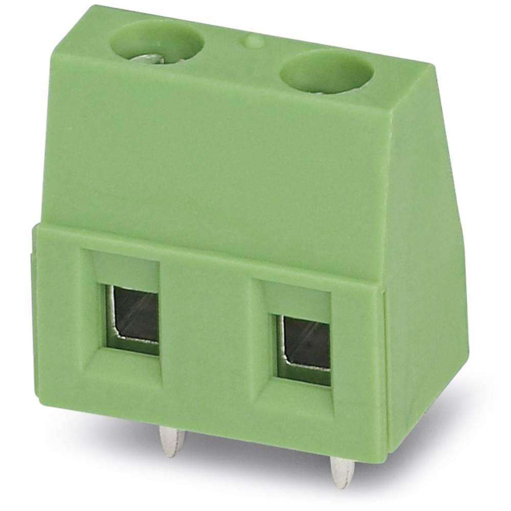 Skrueklemmeblok Phoenix Contact GMKDS 1,5/ 2 1.50 mm² Poltal 2 Grøn 250 stk